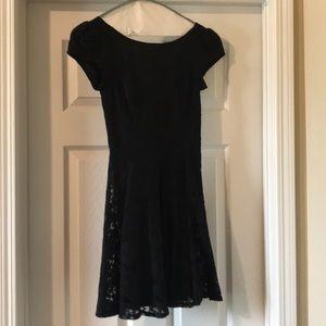 Nordstrom flared mini dress